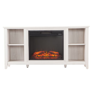 Parkdale White Electric Fireplace
