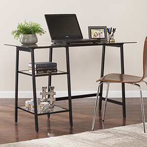 Avery Rich Black Desk