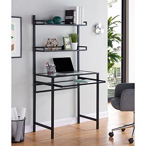 Brax Matte Black Desk