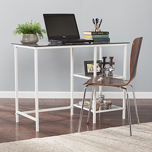 Layton Fresh White Desk
