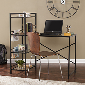 Dillon Smooth Black Desk