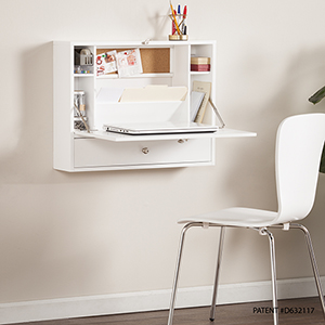 Wall Fresh White Desk