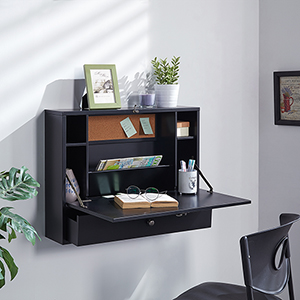 Wall Black Desk