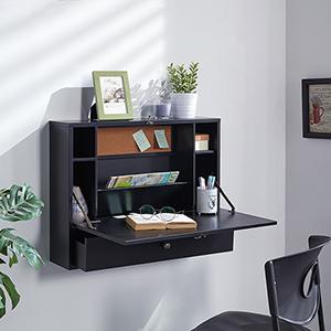 Wall Black Desk