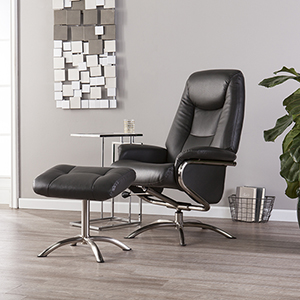 Anders Charcoal and Chrome Chair