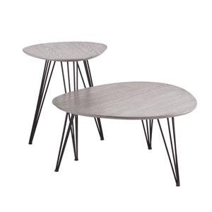Bannock Gray Table Set