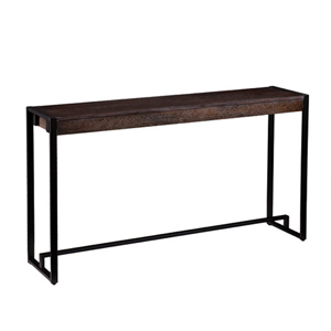 Macen Burnt Oak Console Table