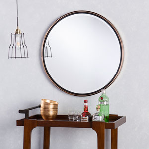 Wais Round Wall Mirror