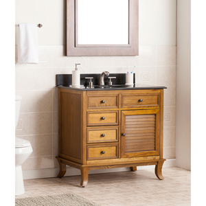 Wallingford Bath Vanity Sink with Granite Top