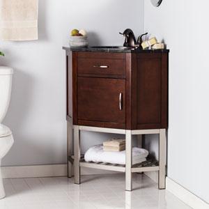 Etonnant Karstark Corner Bath Vanity Sink W/ Marble Top