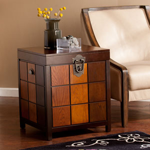 Hendrick Trunk End Table