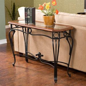 Prentice Black Sofa Table