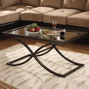Vogue Black Cocktail Table