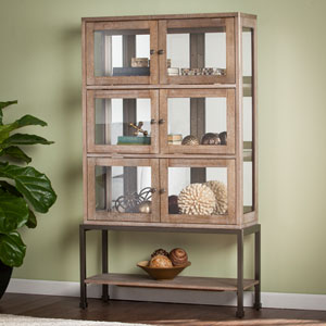 Belstrom Lighted Contemporary Curio