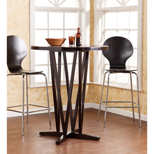 Devon Dark Espresso Bar Table