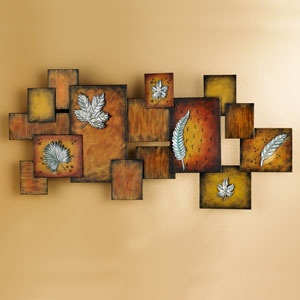 Brown Abstract Wall Art Panel