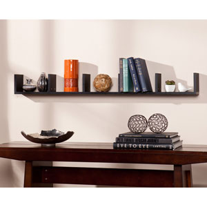 Seaside Black Shelf