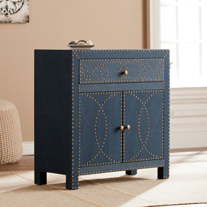 Florian Double-Door Cabinet - Navy