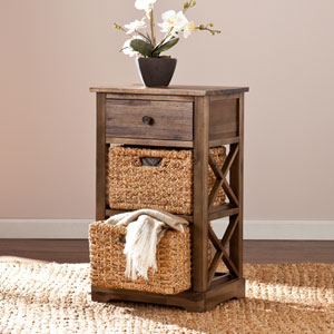 Jayton 2-Basket Storage Shelf
