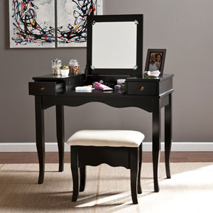 Black Francesca Vanity Set