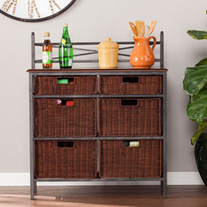 Kelbrook 6- Drawer Storage Chest - Buckeye Oak