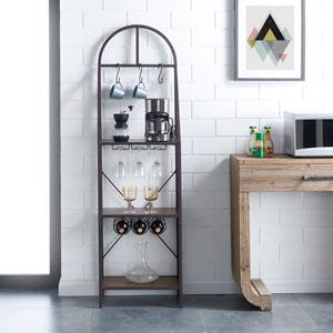 Percival Bakers Rack -Modern Farmhouse Style