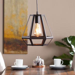Draco Caged Lantern Pendant Lamp