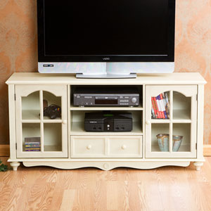 Coventry White Large TV Console