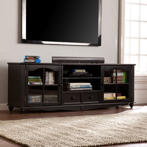Coventry 69-inch TV Console - Antique Black