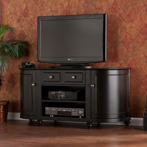 Dandridge Black TV Stand