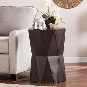 Tremont Accent Table- Antique Black