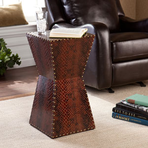 Warrington Brown Accent Table