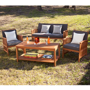 Catania Outdoor Deep Seating - 4pc Set