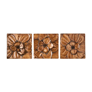 Magnolia Three-Piece Wall Panel Set