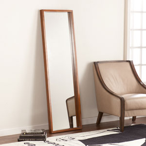 Jennings Leaning Mirror - Dark Tobacco