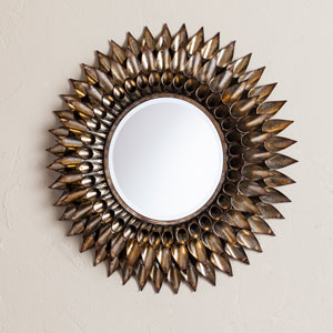 Leandro Round Decorative Wall Mirror