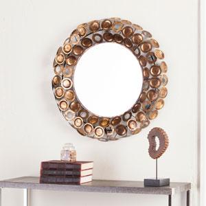 Jarva Round Decorative Mirror