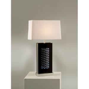 Phantom Silver and Black Table Lamp
