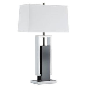 Extender Dark Brown One-Light Table Lamp