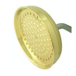 Hot Springs Polished Brass Rain Drop Shower Head