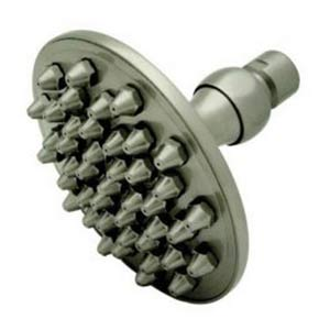 Hot Springs Satin Nickel Apollo Brass Shower Head