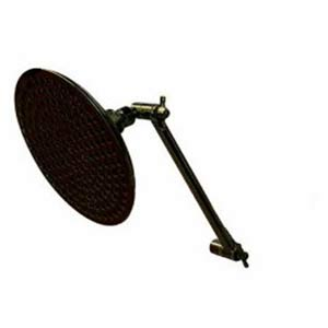 Hot Springs Oil Rubbed Bronze 8-Inch Large Shower Head and High-Low Shower Kit