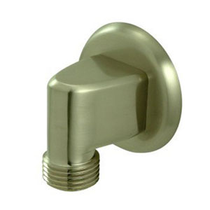 Made to Match Satin Nickel Brass Supply Elbow