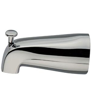 Accents Polished Chrome 5-Inch Diverter Tub Spout