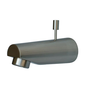 Accents Satin Nickel 5-7/8-Inch Diverter Tub Spout