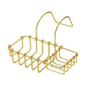 St. Louis Polished Brass 8-Inch Clawfoot Bath Tub Shelf
