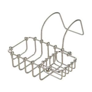 St. Louis Satin Nickel 7-Inch Swivel Soap Basket
