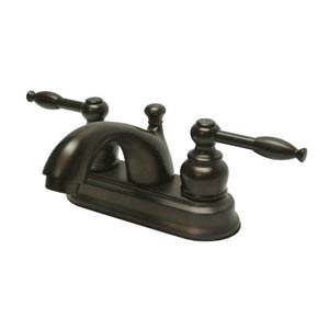 St. Regis Oil Rubbed Bronze Bathroom Faucet with Knight Levers