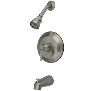Nuvo Satin Nickel Trim Only for Single Handle Tub & Shower Faucet