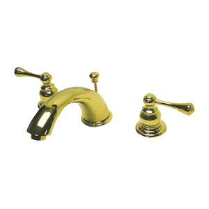 Hot Springs Polished Brass Bathroom Faucet